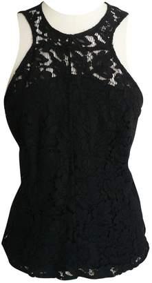 Bel Air Black Cotton Tops