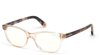 Tom Ford Square Blue Block Optical Frames