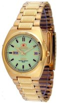 Orient #BEM5L00JR Gold Men's Tri Star Luminous Dial Self Winding Automatic Watch