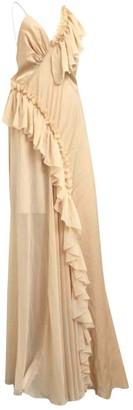 Topshop Tophop Boutique Gold Lace Dress for Women