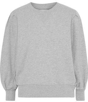 Rebecca Minkoff Scarlette French Cotton-blend Terry Sweatshirt