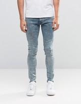 G Star G-Star Revend Super Skinny Jeans Light Aged Acid
