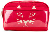Charlotte Olympia cat face clutch - women - Nylon - One Size