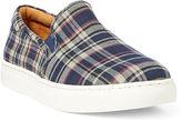 Polo Ralph Lauren Drea Madras Slip-On Sneaker