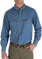 Wrangler Long-Sleeve Work Shirt