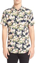 Imperial Motion Men's 'Vacay' Floral Print Short Sleeve Woven Shirt