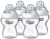 Tommee Tippee Feeding Bottles, Pack of 4, 260ml