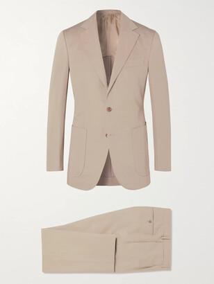 Beams Slim-Fit Cotton And Linen-Blend Suit Jacket