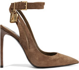 Tom Ford Suede Pumps - Brown