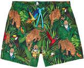 Dolce & Gabbana Mini Me printed swim shorts - Savana