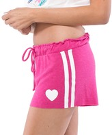 Spiritual Gangster Heart Stripe Shorts