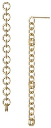 Spinelli Kilcollin Anaka 2-Piece 18K Gold Chain Drop Earrings