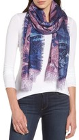 Nordstrom Women's Bohemian Paisley Cashmere & Silk Scarf