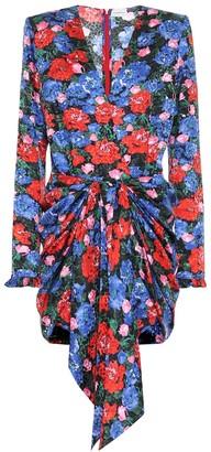 Magda Butrym Lesina silk-jacquard minidress