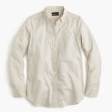 J.Crew Lightweight boy shirt in small polka dot