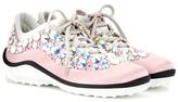 Miu Miu Astro Running Embellished Sneakers