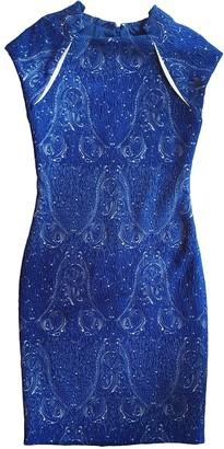Yigal Azrouel Blue Dress for Women
