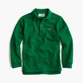 J.Crew Kids' Lacoste® for long-sleeve polo shirt