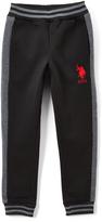 U.S. Polo Assn. Black Sweatpants - Boys