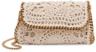 Stella McCartney Falabella Crochet Cotton Crossbody Bag