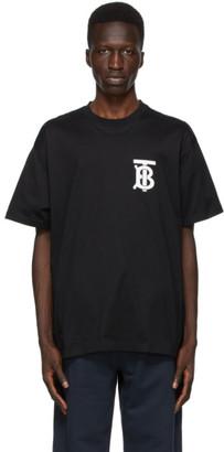 Burberry Black TB Monogram Emerson T-Shirt