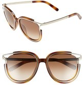 Chloé Women's 'Jayme' 54Mm Retro Sunglasses - Dark Grey