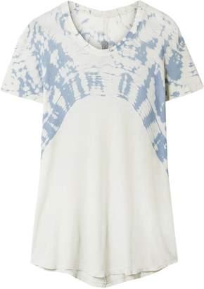 Raquel Allegra Boxy Tie-dyed Cotton-jersey T-shirt
