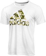 adidas Men's Cotton Printed Logo T-Shirt