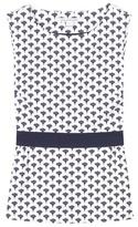 Diane von Furstenberg Payton Printed Cotton Blouse