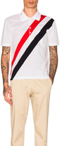 Thom Browne Diagonal Stripes Polo
