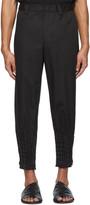Issey Miyake Black Torus Basic Trousers