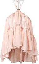 Plein Sud Jeans halterneck top - women - Silk - 36