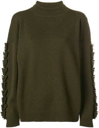 Barrie Troisieme Dimension cashmere turtleneck pullover