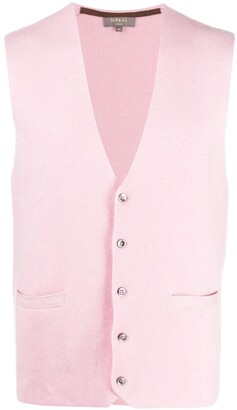 N.Peal Cashmere Knit Waistcoat