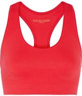 Lucas Hugh Technical Knit Stretch Sports Bra - Red