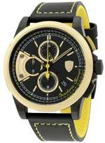 Ferrari 0830314 Stainless Steel / Leather 46mm Mens Watch