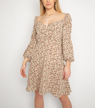 New Look Another Look Ditsy Floral Dress