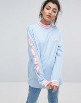 Lazy Oaf Letters Long Sleeve T-Shirt