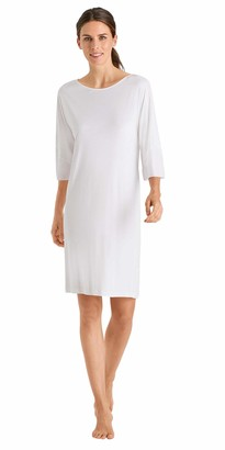 Hanro Women's Alika Short Sleeve Gown