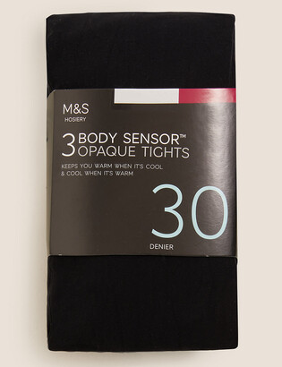 Marks and Spencer 3 Pack 30 Denier Body Sensor Tights
