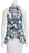 Erdem Floral Printed Sleeveless Top
