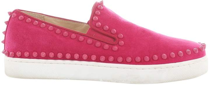 separation shoes 3c47f 70459 Pink Suede Flats