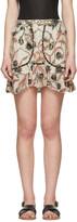 Isabel Marant Ecru Ugi Miniskirt