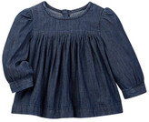 Joe Fresh Chambray Top (Baby Girls 12-24M)
