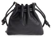 Clare Vivier Petit Henri Leather Bucket Bag - Black