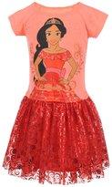 """Disney Elena of Avalor Little Girls' Toddler """"Regal Skirt"""" Dress"""