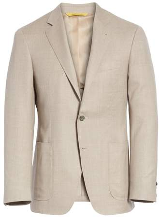 Canali Classic Fit Wool Sport Coat
