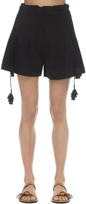 Carolina K. Ori Linen Blend Shorts