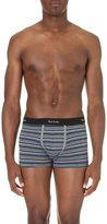 Paul Smith Stripe-print Cotton-blend Trunks