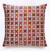 Quatrefoil Pink Pillow